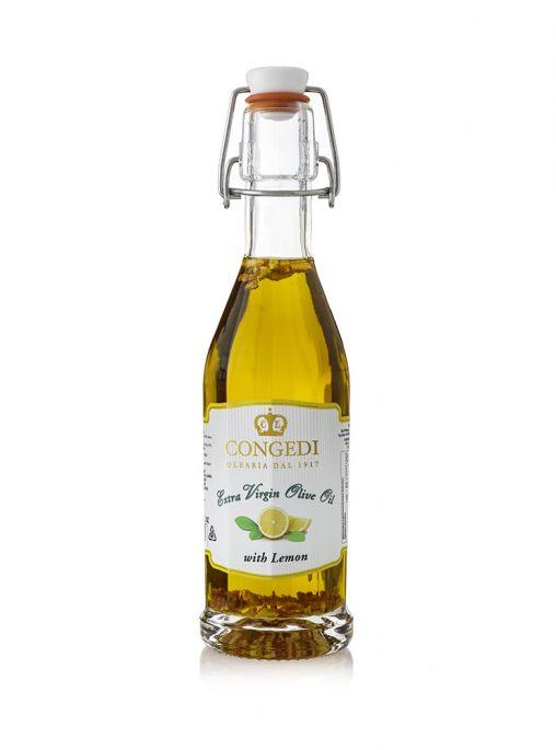 Olio extra vergine di oliva aromatizzato al limone 0,25 l