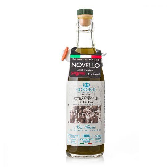 Olio extra vergine di oliva - Non filtrato 1l Novello