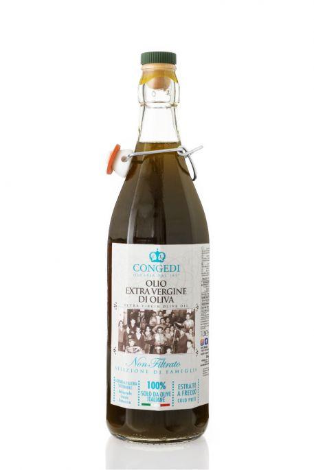 Olio extra vergine di oliva – Non filtrato 1 l