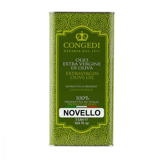 Olio Extra Vergine di Oliva estratto – Estratto a Freddo Novello-5 l