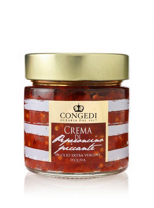 Crema di Peperoncino Piccante in Olio Extra Vergine