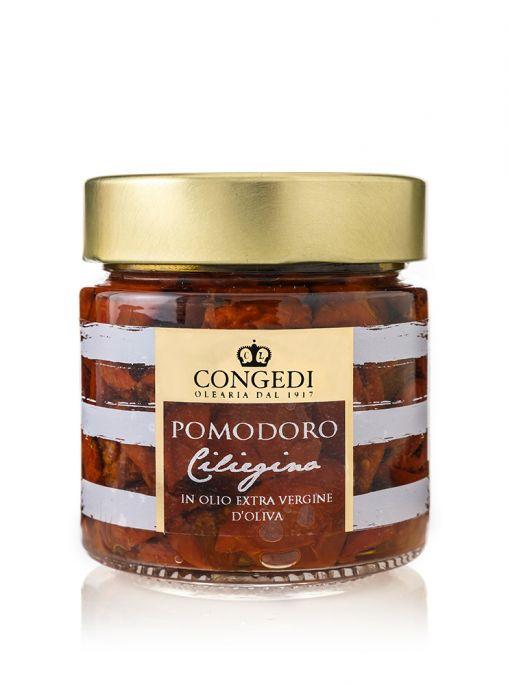 Pomodorini Ciliegini soleggiati in olio extra vergine di oliva