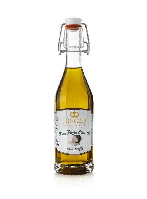 Olio extra vergine di oliva aromatizzato al tartufo 0,25 l